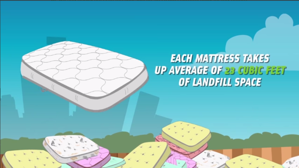 Mattress Landfill Pile Up